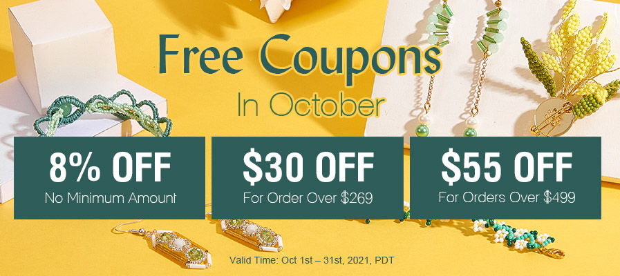 Free Coupons in October