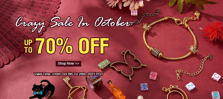 October Sales 70% OFF