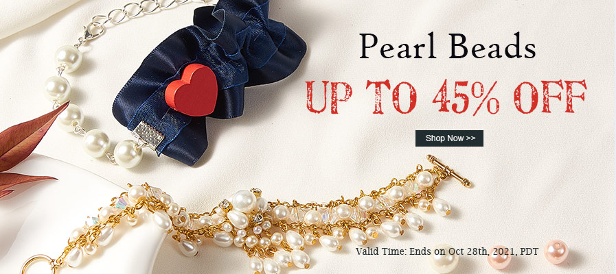 Pearl Beads UP TO 45% OFF