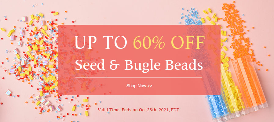 Seed & Bugle Beads UP TO 60% OFF