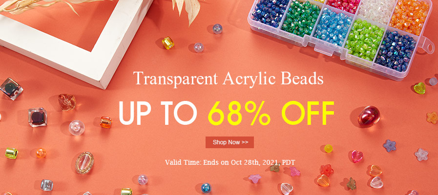 Transparent Acrylic Beads Up To 68% OFF