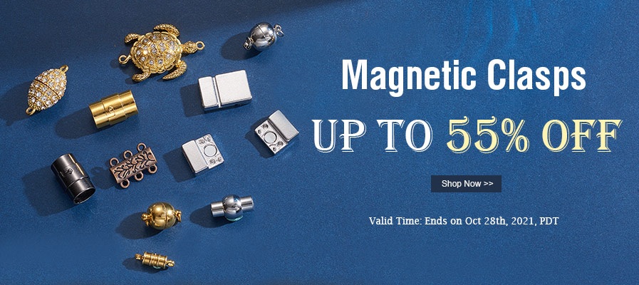 Magnetic Clasps  UP TO 55% OFF