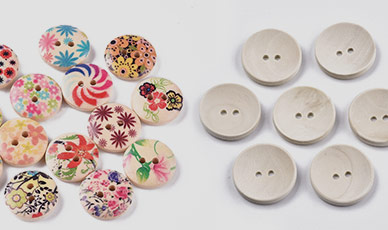 MAX 75%OFF Wood Buttons