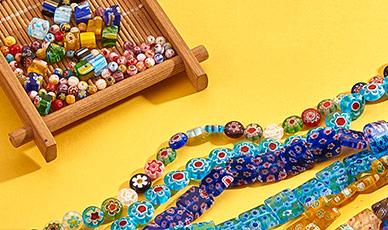 MAX 43% OFF Millefiori Glass Beads