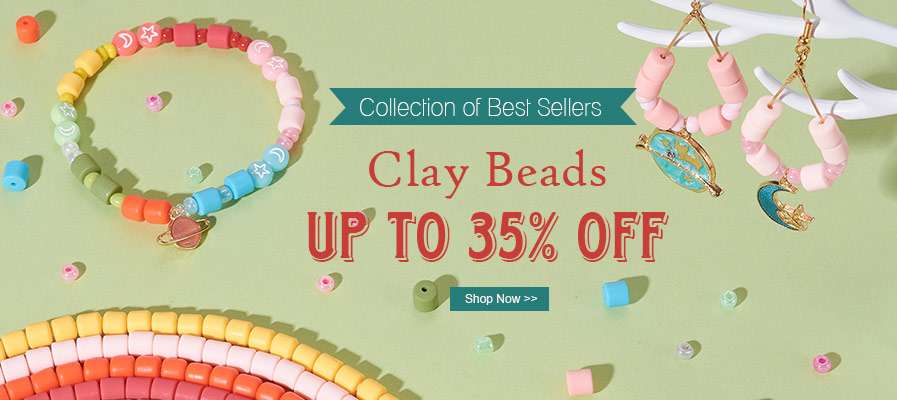 Clay Beads Up To 35% OFF